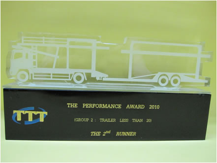 THE BEST PERFORMANCE AWARD 2010